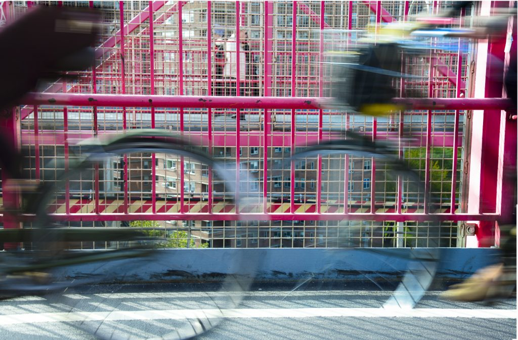 Bicycles on Manhattan Bridge