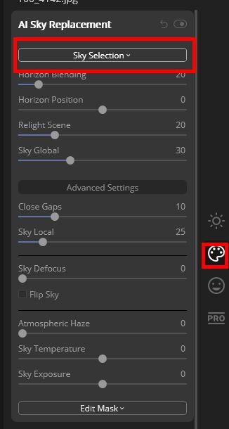 Custom Sky Programs